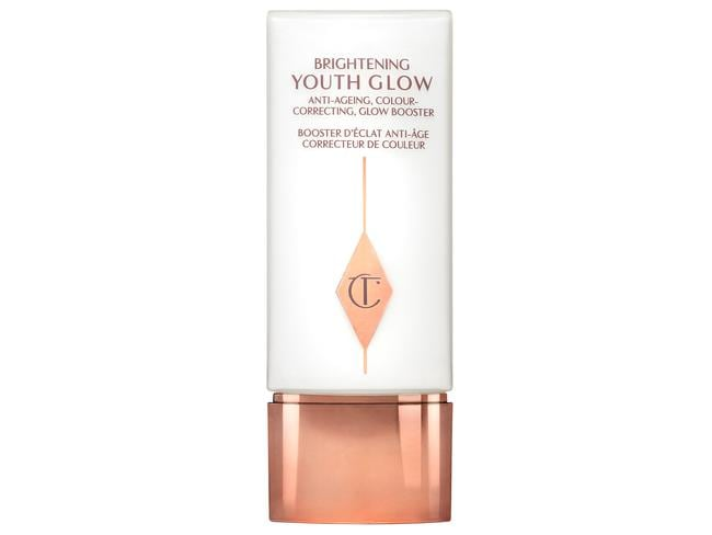 This will give you that all over glow without the shimmer.