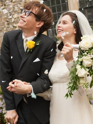 Eddie Redmayne and Felicity Jones in The Theory of Everything. Picture: Supplied
