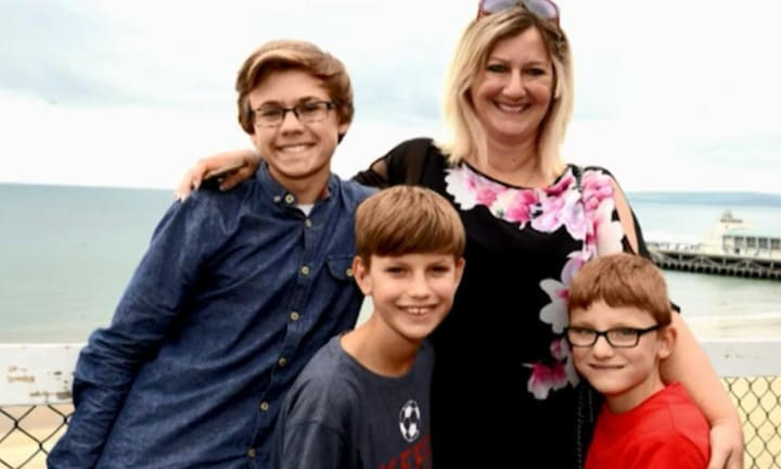 Anna changed her life to get her sons back, and she now lives with her boys again. Source: The Sun