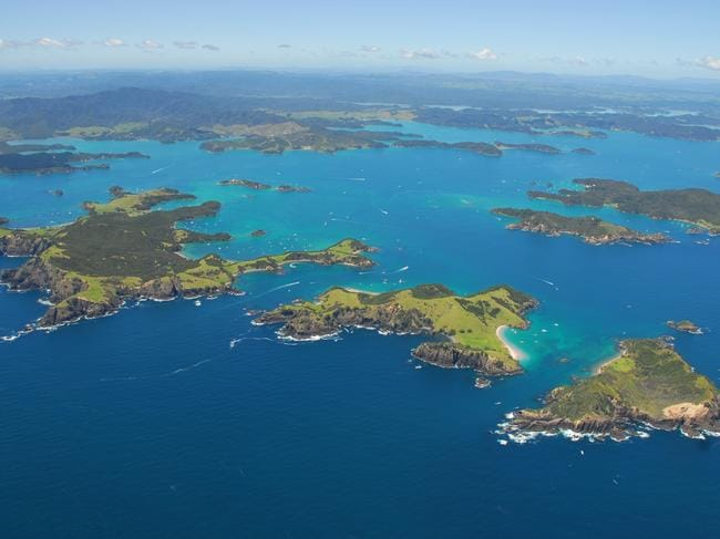 The Bay of Islands.