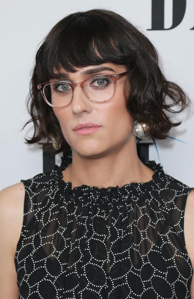Teddy Geiger at her first red carpet appearance since transitioning. Picture: Leon Bennett/Getty Images