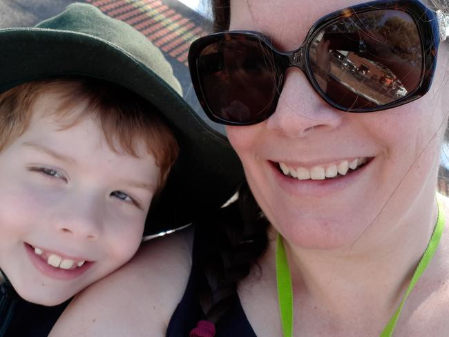 Shirley Taylor welcomed Connor in 2011 and sought help before giving birth. Picture: Supplied