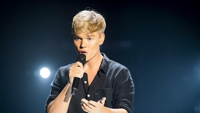 Jack Vidgen scored most of the headlines this season — but fell short of the final. Photo: Channel 9