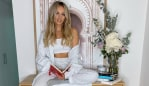 Samantha Jade on exercise, midweek meals and how she stays present. Image: Samantha Jade