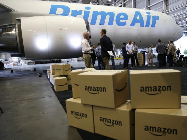 Amazon is aggressively growing its Prime video membership service. Picture: Ted S. warren/Associated Press