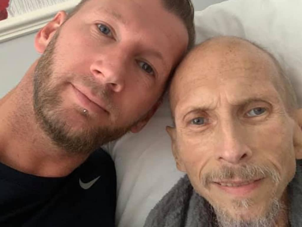 Sydney man Bazal Wright has been stuck in the UK after travelling to visit his terminally ill father and now has been forced to book his fourth flight after previous ones were cancelled. Picture: Bazal Wright.