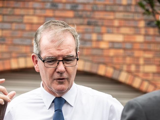 NSW Labor leader Michael Daley will take some time with his family now. Picture: Monique Harmer
