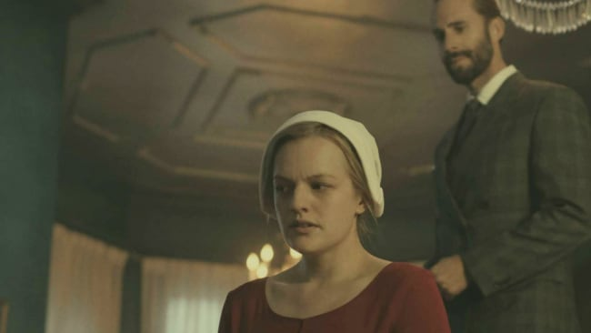Fred Waterford is as evil as they come. Photo: The Handmaid's Tale.