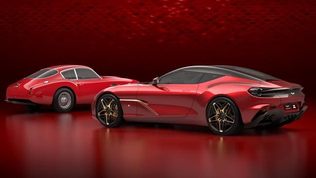 Aston Martin's DBZ Centenary duo.