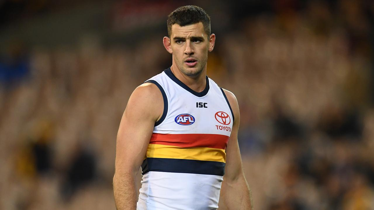 Taylor Walker has been offered a two-game suspension for rough conduct. (AAP Image/Julian Smith)
