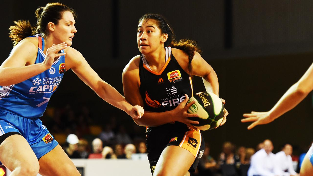 Townsville Fire's Zitina Aokuso is destined for big things, says Suzy Batkovic. Picture: Zak Simmonds