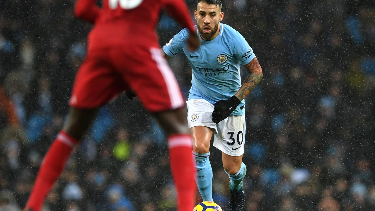 Nicolas Otamendi completed the most passes for Manchester City in the 2017/18 Premier League season.