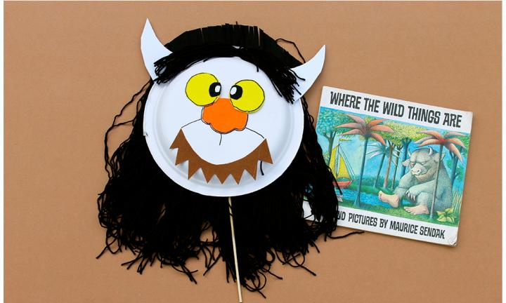 "Where The Wild Things Are  <p>It's de rigueur these days for kids to come as Max in his wolf suit. But how awesome are those Wild Things? </p>  <p>Make your child into a Wild Thing with this easy paper plate mask.<a href=""http://www.kidspot.com.au/things-to-do/activities/make-a-wild-thing-mask"">How to fudge a Wild Thing dress up</a></p>"