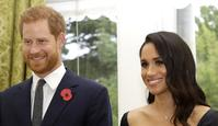 WELLINGTON, NEW ZEALAND - OCTOBER 28:  Prince Harry, Duke of Sussex and Meghan, Duchess of Sussex wait to meet New Zealand Prime Minister Jacinda Ardern, at Government House on October 28, 2018 in Wellington, New Zealand. The Duke and Duchess of Sussex are on their official 16-day Autumn tour visiting cities in Australia, Fiji, Tonga and New Zealand.  (Photo by Kirsty Wigglesworth - Pool /Getty Images)