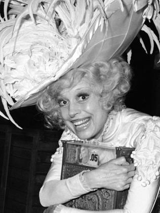 Carol Channing in 1978. Picture: AP
