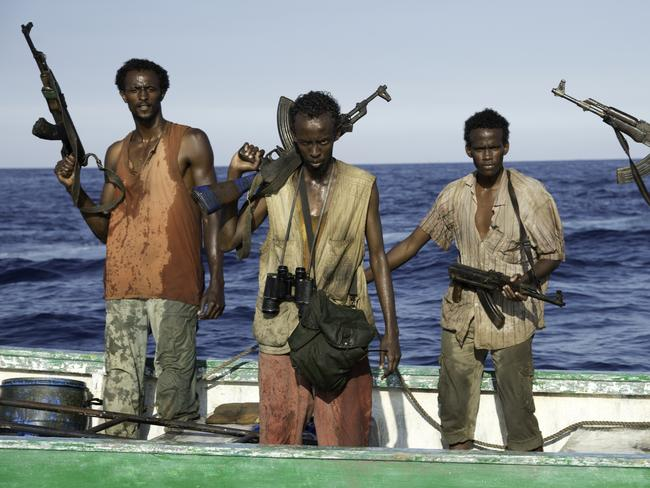 <i>Captain Phillips</i> is a 2013 film about Somali pirates, based on a true story, which was nominated for several Academy Awards. Picture: AP