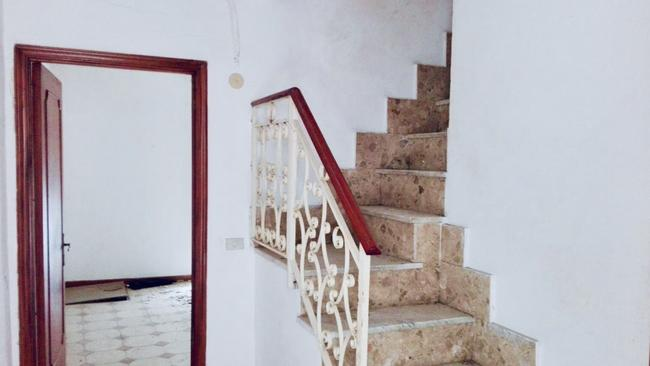 One of the staircases in Kopun's home. Picture: Supplied.