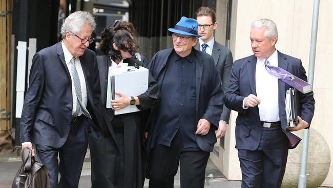 On day five of the hearing, Geoffrey Rush was described as having the same star power as Clint Eastwood and Harrison Ford. Picture: Richard Dobson