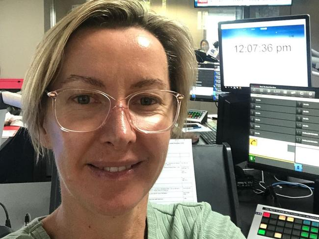 Aussie broadcaster Deborah Knight isn't afraid to share a makeup-free selfie to Instagram, but it seems fans have struggled with her more natural look. Picture: Instagram/Deb Knight