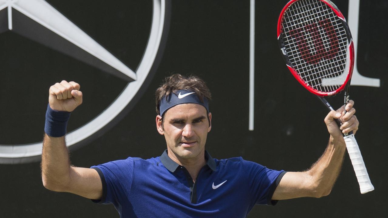 Roger Federer is raking it in with Mercedes.