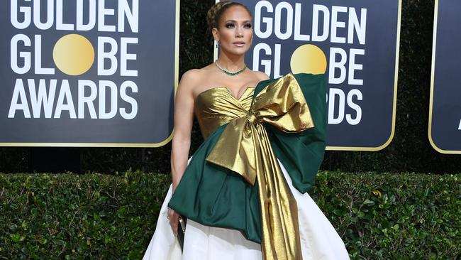 J-Lo said she felt she'd 'let her team down' by not making the nominations list. Picture: AFP.