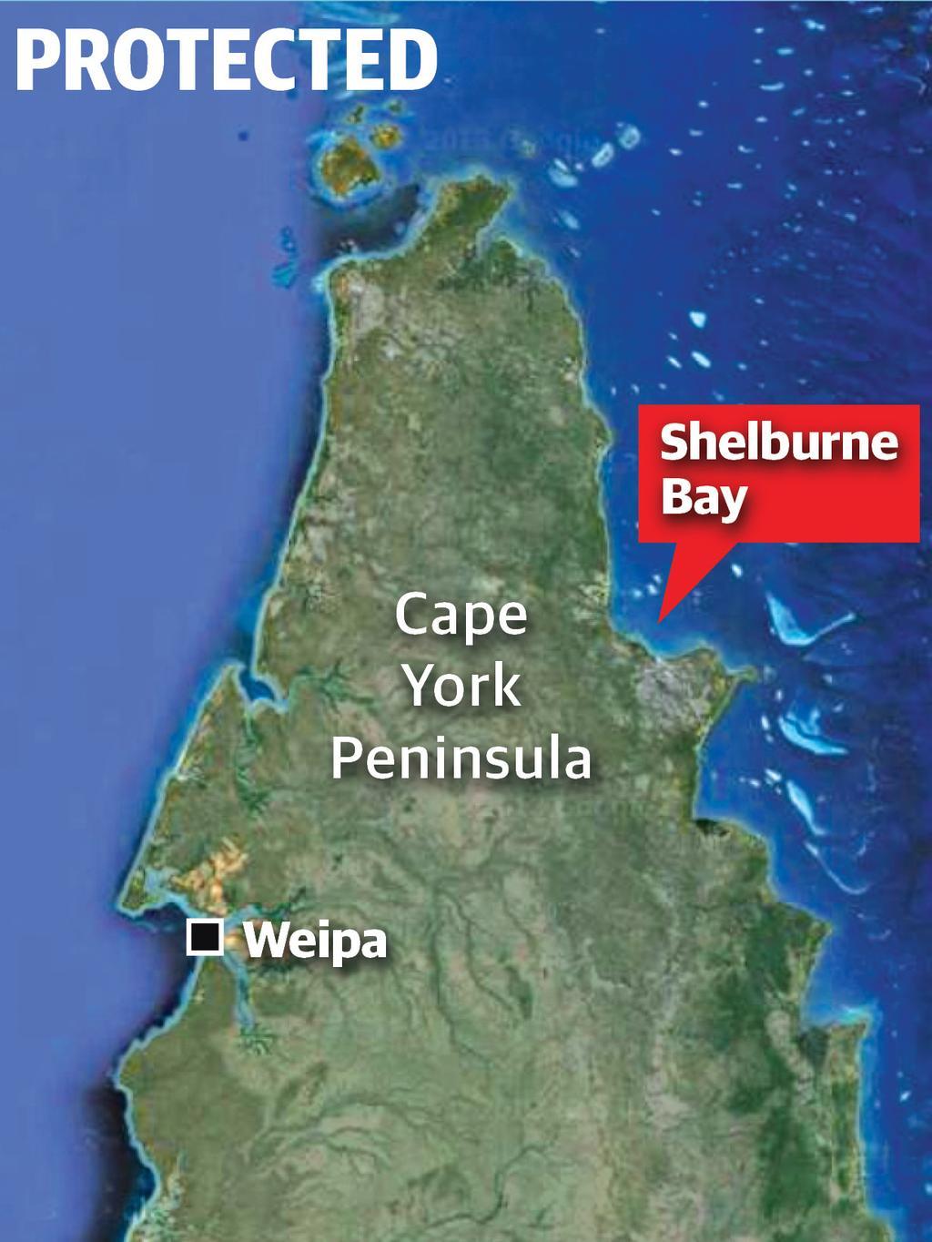 Map Of Australia Cape York Peninsula.National Treasure Shelburne Bay In Cape York Returned To