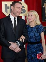 Liev Schreiber and Naomi Watts attend the 22nd Annual Screen Actors Guild Awards on January 30, 2016 in Los Angeles, California. Picture: Getty
