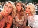 "Sylvia Jeffreys, Natalia Cooper and Belinda Russell ... ""Ad break"" Picture: Instagram"