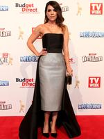 Michala Banas on the red carpet at the 2015 Logie Awards at Crown Casino in Melbourne. Picture: Julie Kiriacoudis