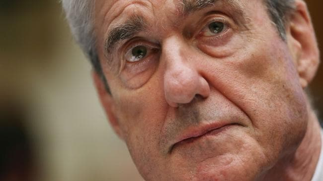 Former special counsel Robert Mueller. Picture: Chip Somodevilla/Getty Images/AFP