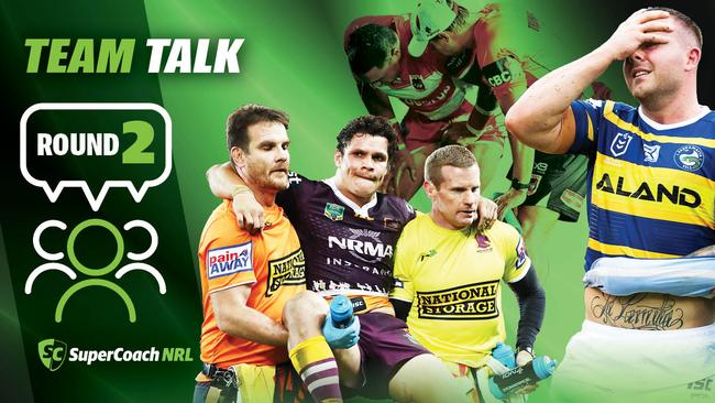 NRL Team Talk Round 2.