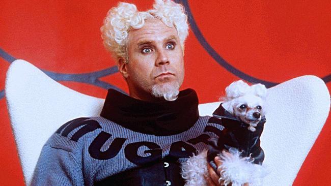 Will Ferrell in the first Zoolander film.