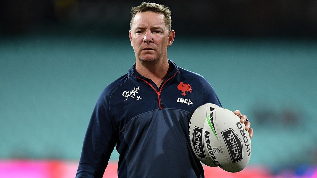 Adam O'Brien was an assistant at the Roosters and Storm. Picture: AAP/Dan Himbrechts