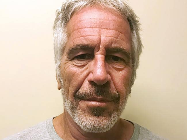 Epstein died by suicide while awaiting trial on sex-trafficking charges. Picture: New York State Sex Offender Registry/AP