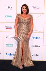 Julia Morris arrives at the 60th Annual Logie Awards at The Star Gold Coast on July 1, 2018 in Gold Coast, Australia. Picture: Chris Hyde/Getty Images