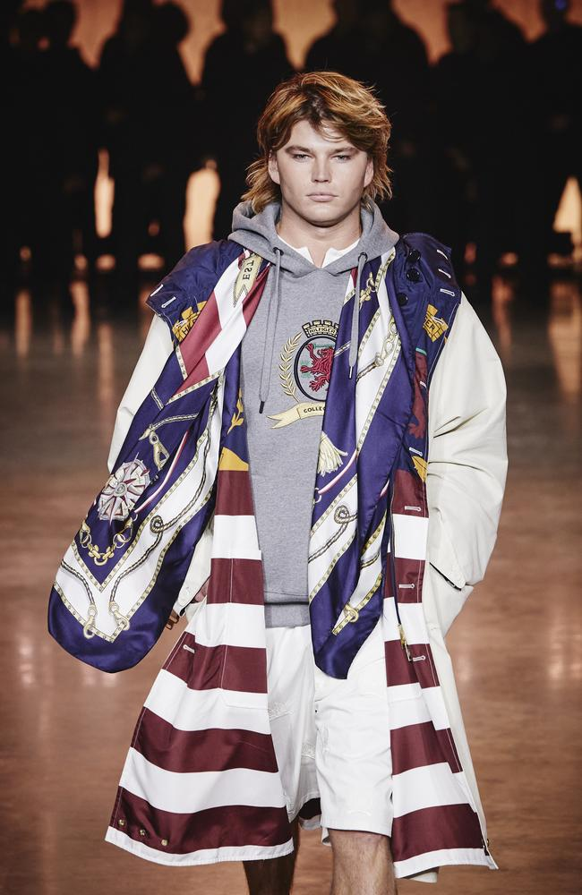 Jordan Barrett. Picture: Getty Images for Tommy Hilfiger