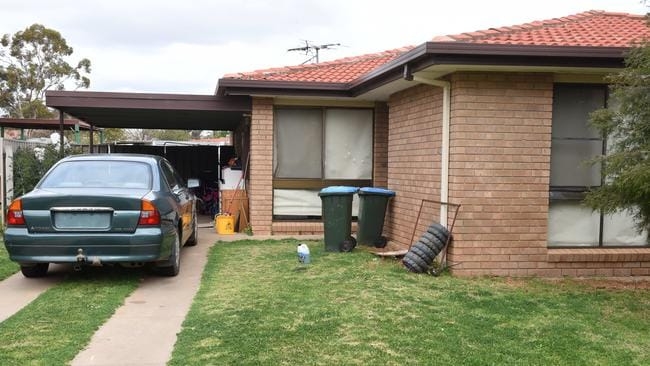 The house where Nikki Francis-Coslovich was found dead. Picture: Tony Gough