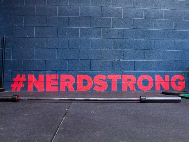 Nerdstrong. Photo: Supplied