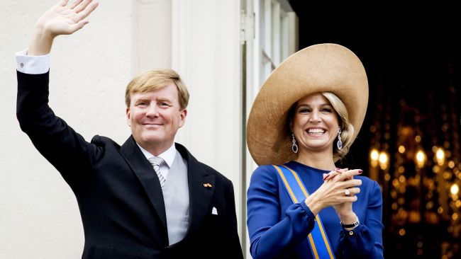 Dutch King Willem-Alexander and Queen Maxima. Photo: AFP