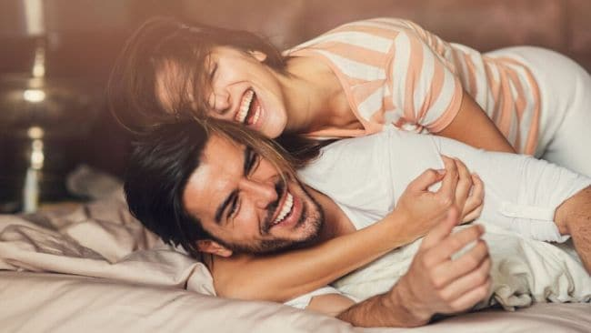 Arouse your partner with the tone of your voice. Image: iStock.