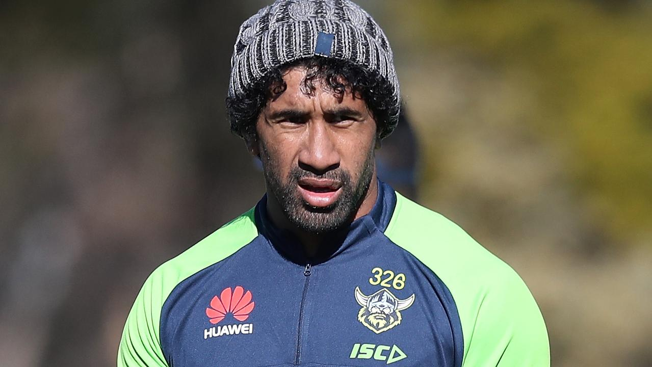 Sia Soliola suffered a horror facial fracture against the Dragons in Round 8.
