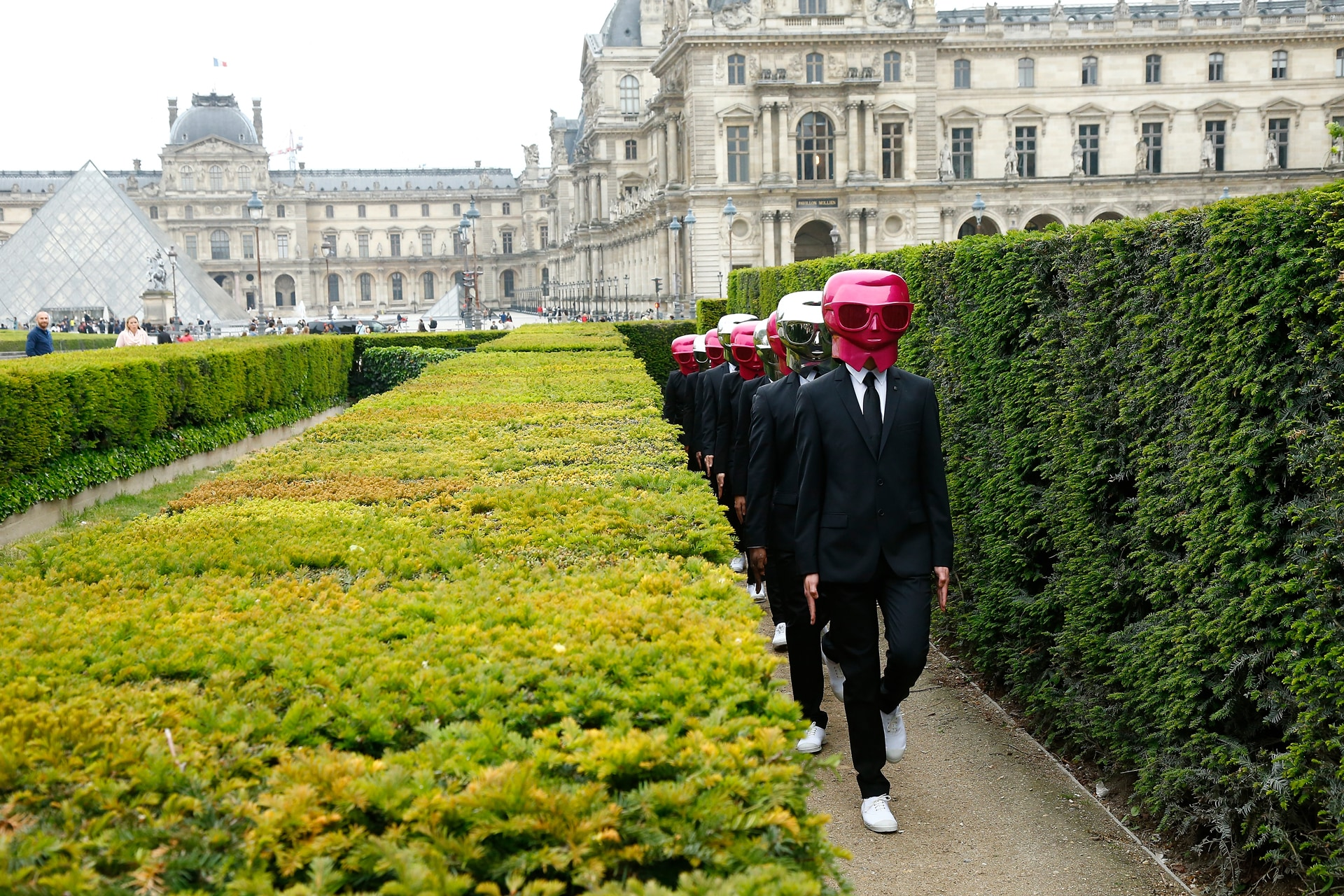 Karl Lagerfeld and ModelCo bring Paris to a standstill in the name of beauty