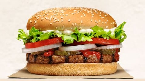Burger King has started selling a meat-free burger in New Zealand, but it's not okay for vegetarians and vegans. Picture: Burger King website