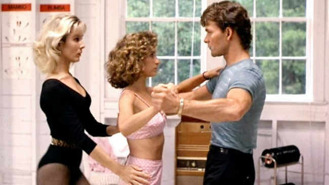 Penny, Baby and Johnny. Photo: 'Dirty Dancing'