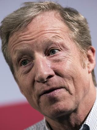 Hedge fund billionaire Tom Steyer has spent $166 million this midterm season. Picture: Getty Images/AFP