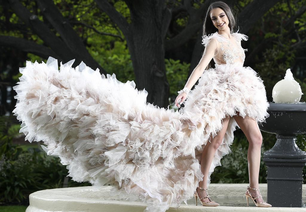 Immanuel College Student Ana Samaras Wins National Award For Formal Gown Adelaide Now