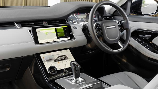 Land Rover says buyers are demanding leather alternatives for car interiors. Picture: Supplied.