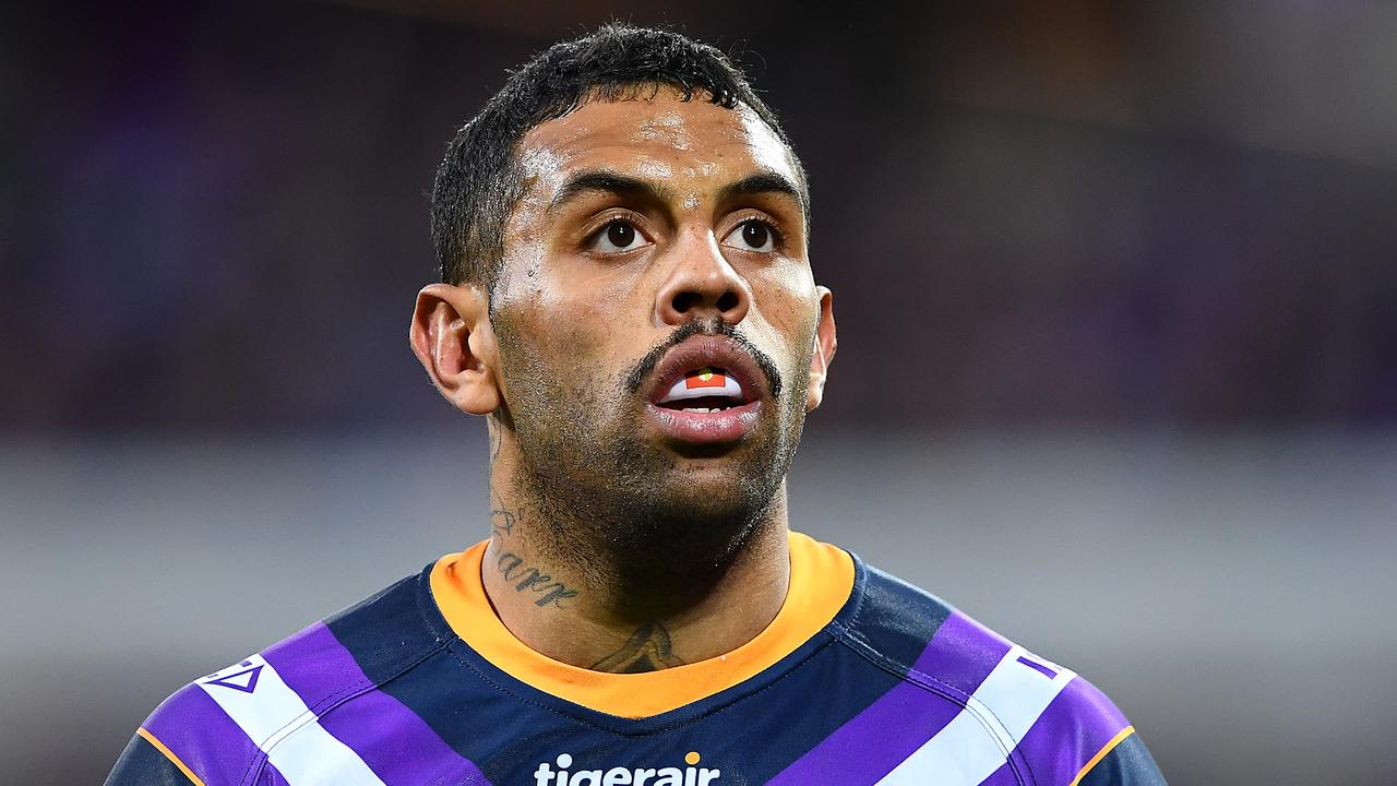 Josh Addo-Carr has been linked with an exit from the Storm in recent weeks. (Photo by Quinn Rooney/Getty Images)