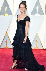 Alicia Vikander attends the 89th Annual Academy Awards. Picture: Frazer Harrison/Getty Images