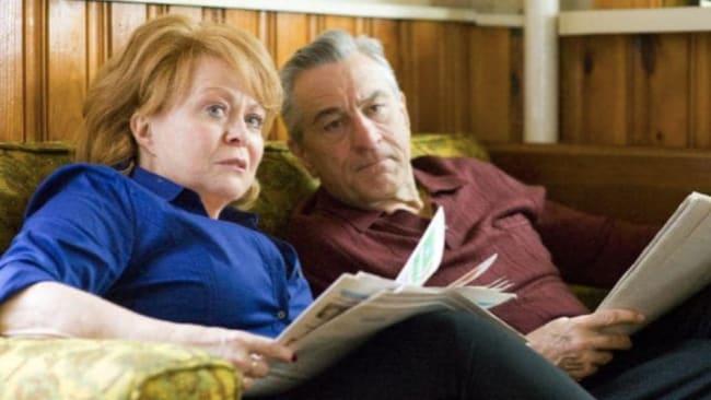 Jacki Weaver and Robert De Niro in Silver Linings Playbook. Source: Supplied
